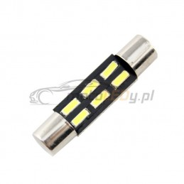 LED T6.3 12V 1.2W CANBUS 31mm