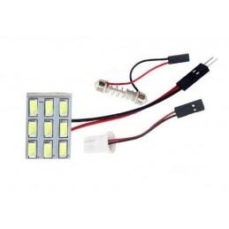 3x3 Panel LED 12V  T10,...