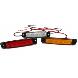 Side Marker Lights, 6 LED...