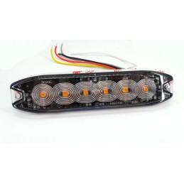 Lampa obrysowa strobo 6 LED...