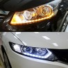 Daytime running lights + Flowing Turn Signals LED, Set - 2pcs