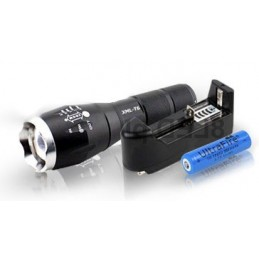 LED Flashlight + charger +...
