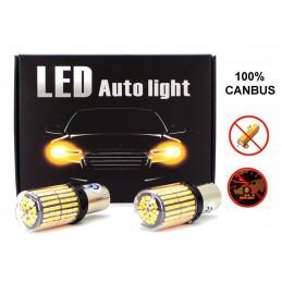 2x LED BA15S, P21W 12-24V...