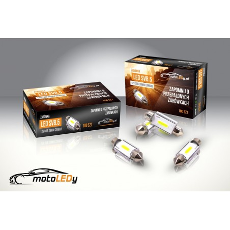 LED SV8.5 12V COB CANBUS 39mm