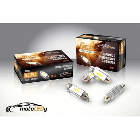 żarówka LED SV8.5 12V COB CANBUS 41mm
