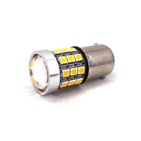 copy of LED BA15S, P21W 12V CANBUS, Orange