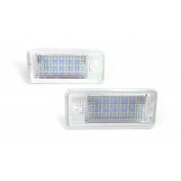 Audi 2x lampki LED podśw...