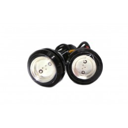 LED lights RED 3W, Set - 2pcs