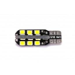 LED T10 12V 7W CANBUS