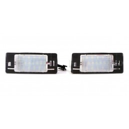 Opel license plate LED...