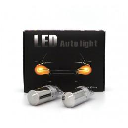 LED 2x 7440, W21W 12-24V...